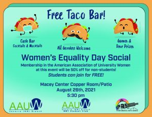 8-26-21 Women's Equality Day Taco Bar Event